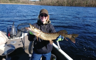 First pike for Molly