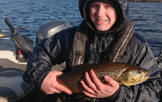 First trout of the season 2020 in the boat!